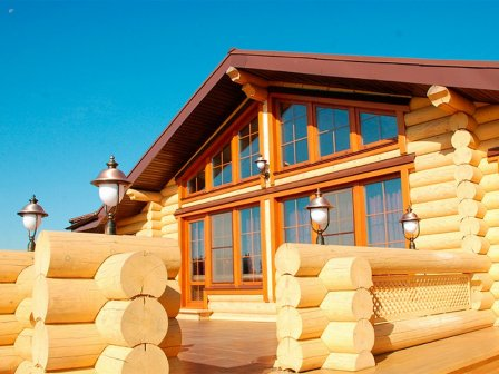 Современная классика, воплощённая в деревянном доме