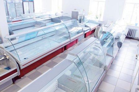 Холодильные витрины для торговых предприятий
