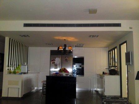 Приточно-вытяжная вентиляция для квартиры с кондиционером (центральное кондиционирование)