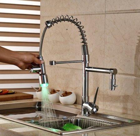 Важные параметры при выборе кухонного смесителя