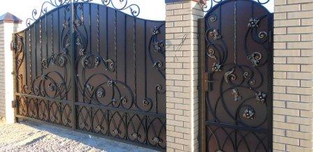 Распространенные виды сварных ворот