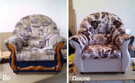 Когда, где и как ремонтировать мягкое кресло