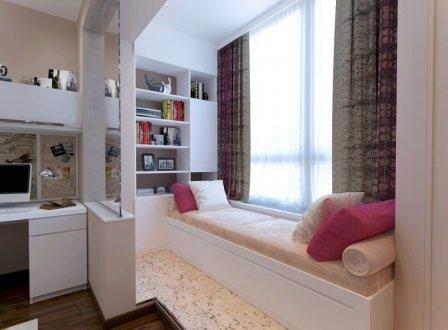 Дизайн нестандартной комнаты