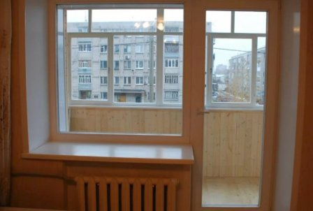 Пластиковые балконные блоки