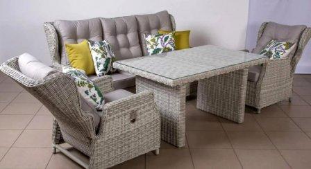 Экзотика в вашем доме: ротанговая мебель